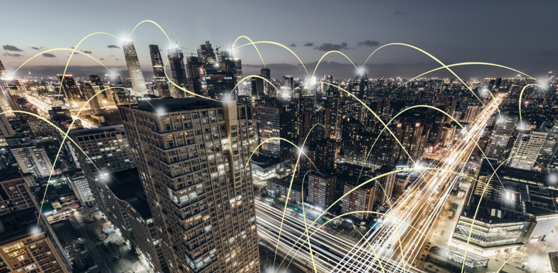 IoT City Stadt