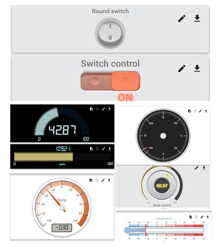 IoT Widgets