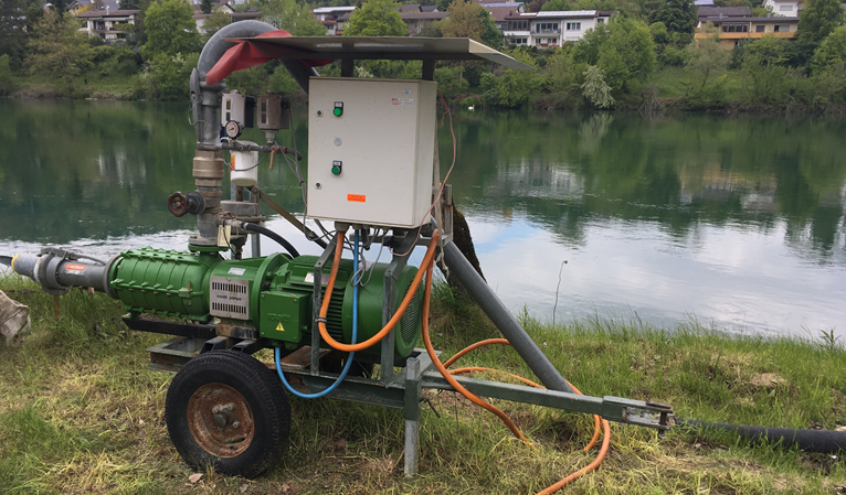 Pumpensteuerung Gemüse-Bewässerung